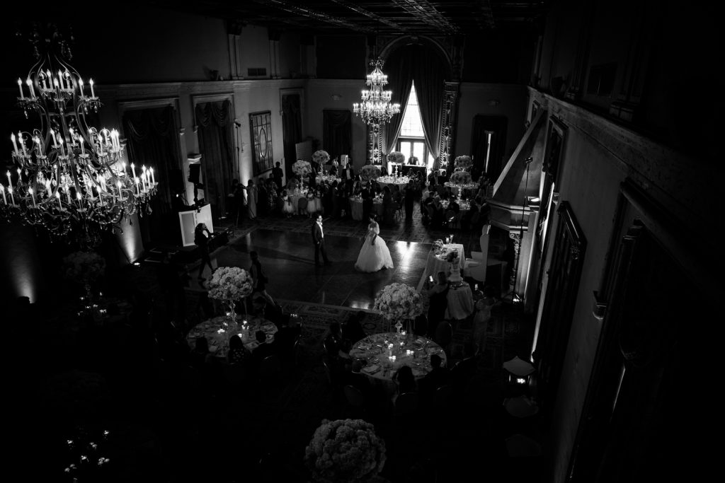 Wedding reception at Miami Biltmore Hotel