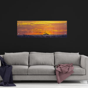 Acrylic Print. Costa Rica Sunset